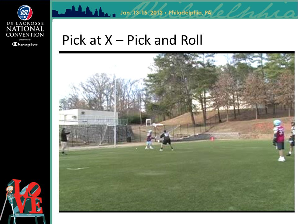 Pick at X – Pick and Roll