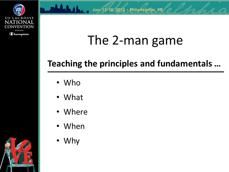 Teaching the principles and fundamentals …