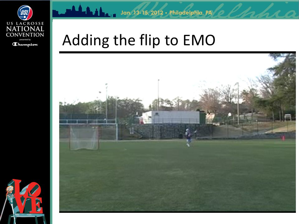 Adding the flip to EMO