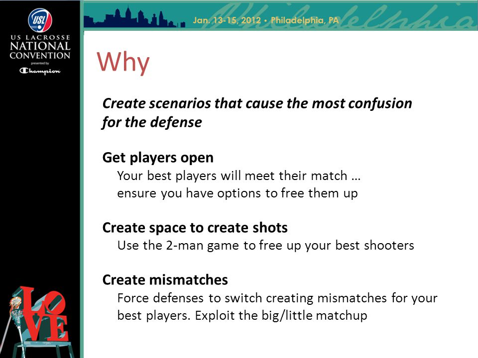 Why Create scenarios that cause the most confusion for the defense