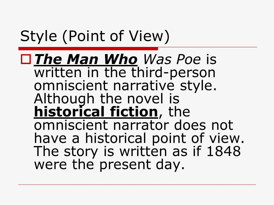 Style (Point of View)