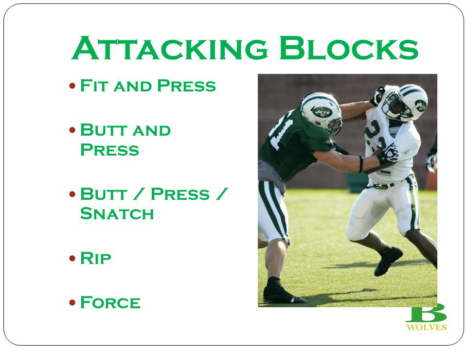 Attacking Blocks Fit and Press Butt and Press Butt / Press / Snatch