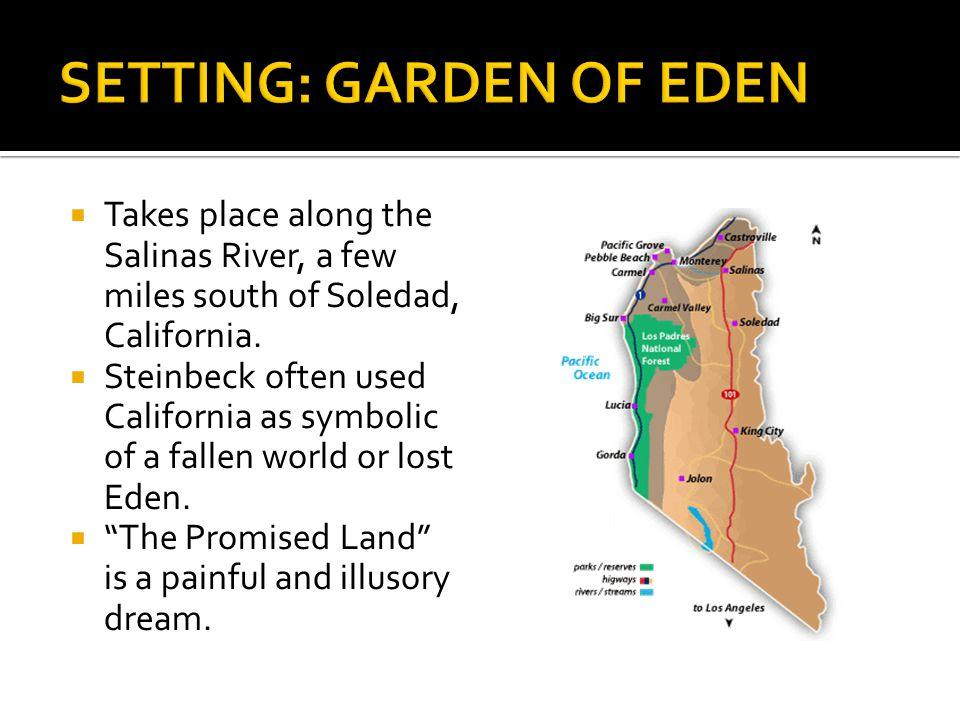 SETTING: GARDEN OF EDEN