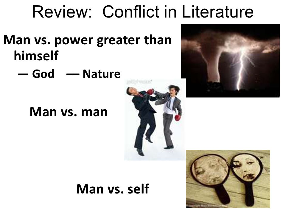 Review: Conflict in Literature