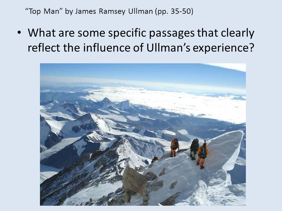 Top Man by James Ramsey Ullman (pp. 35-50)