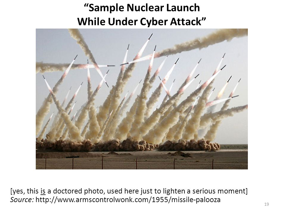Sample Nuclear Launch While Under Cyber Attack