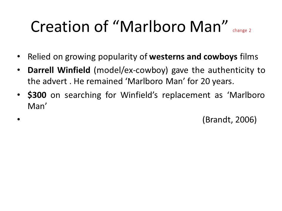 Creation of Marlboro Man change 2