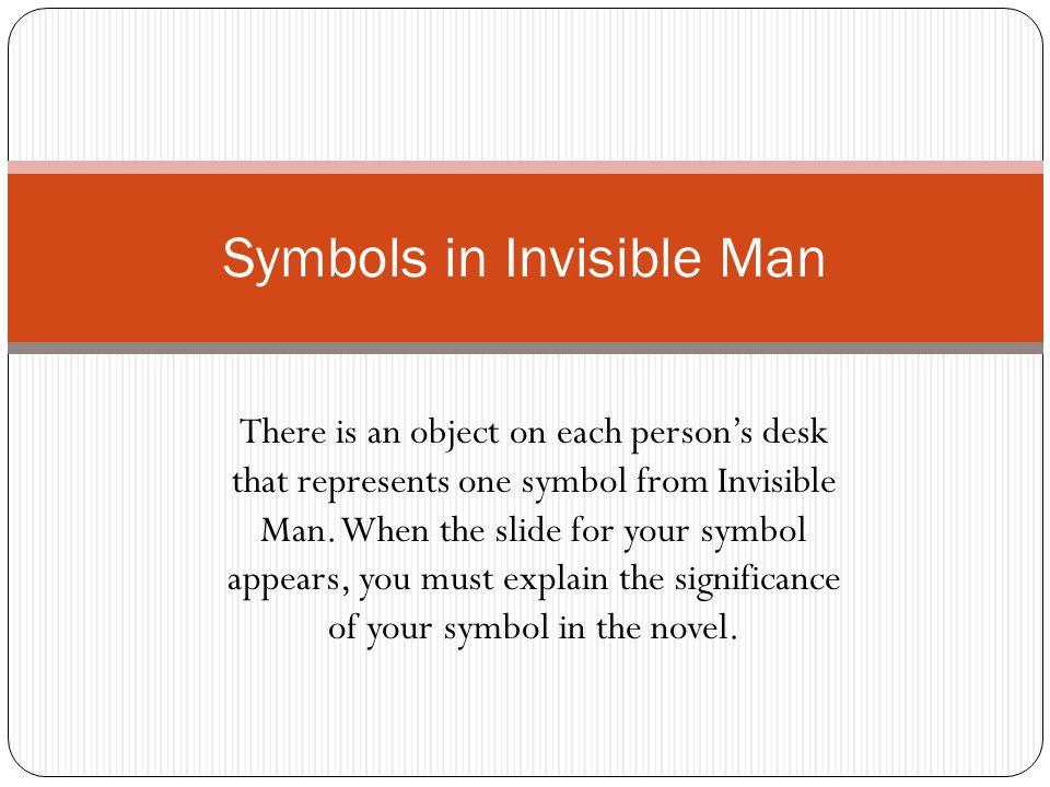 invisible man symbols