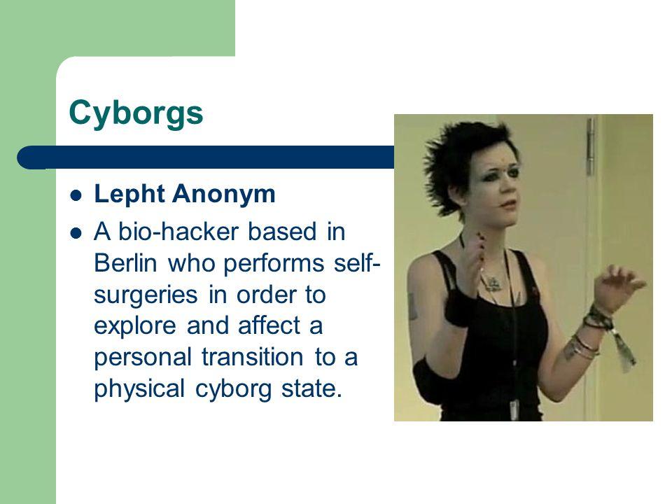 Cyborgs Lepht Anonym.