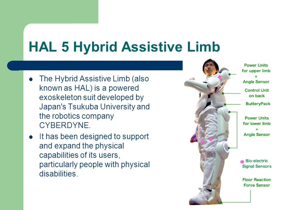 HAL 5 Hybrid Assistive Limb