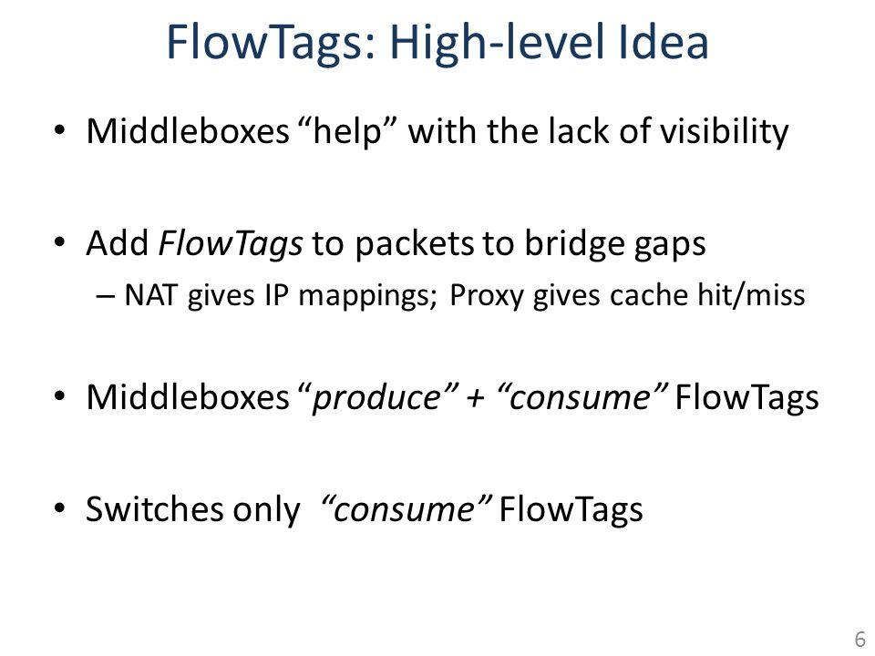 FlowTags: High-level Idea
