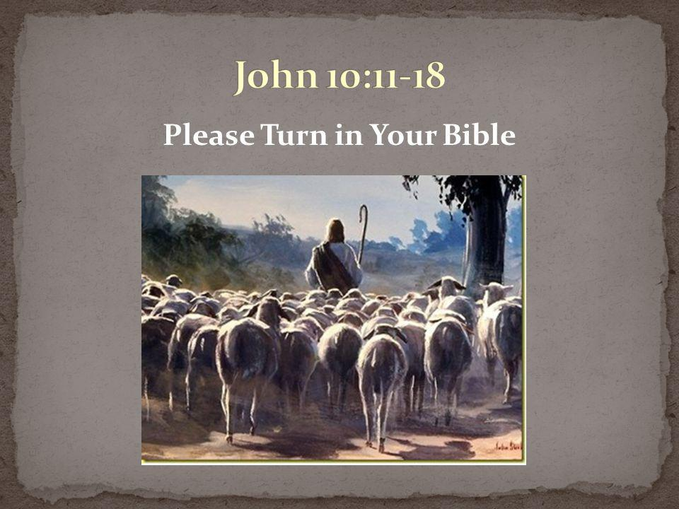Please Turn in Your Bible