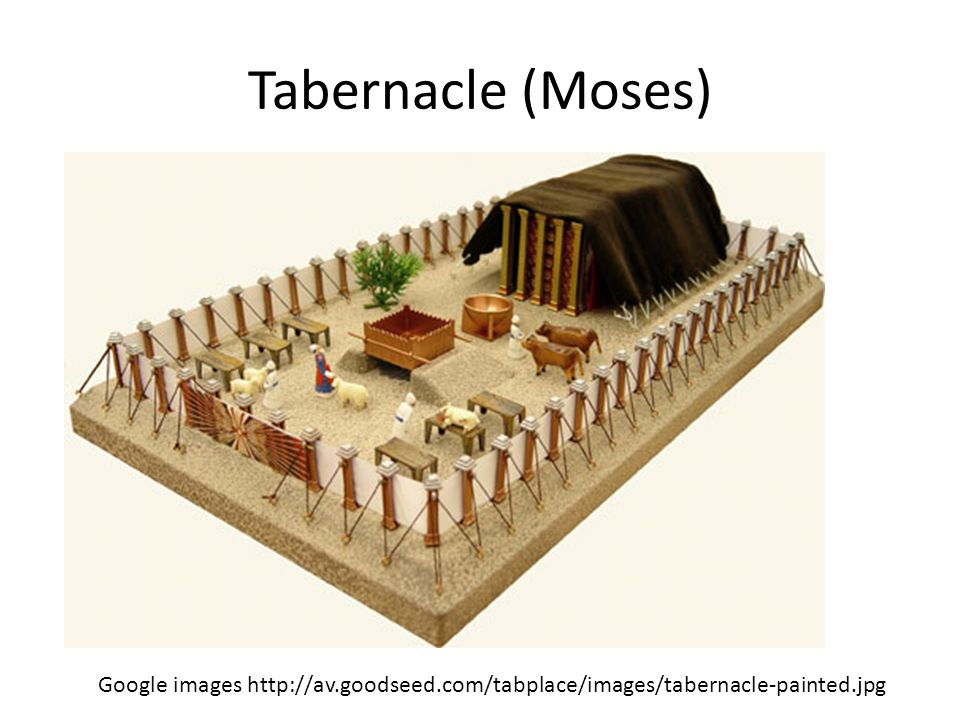 Tabernacle (Moses) Google images