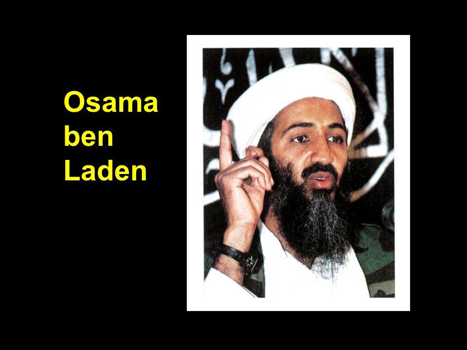 Osama bin Laden Osama ben Laden