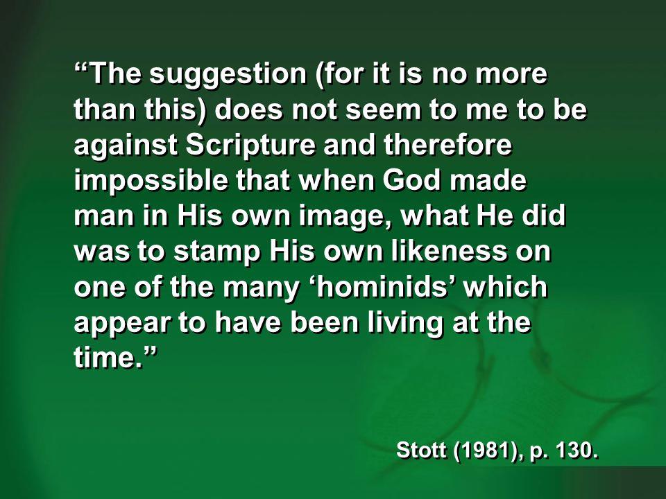 Stott 1981—pre-Adamites 2