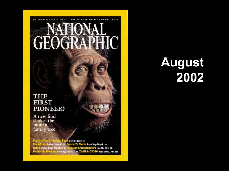National Geographic cover, August 2002
