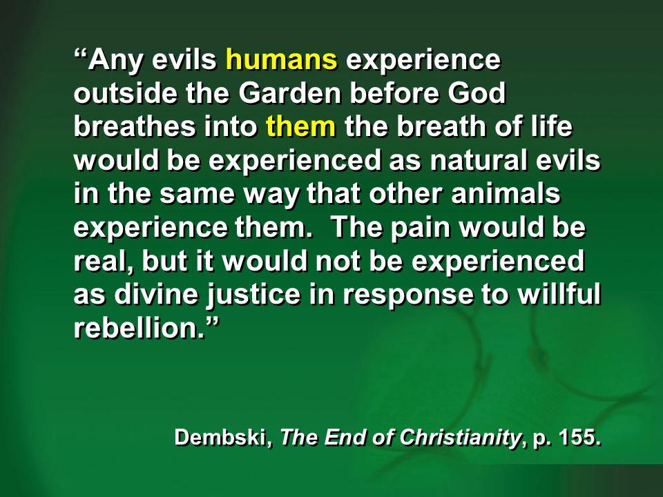 Dembski 2009, p. 154-155—humans vs animals #3