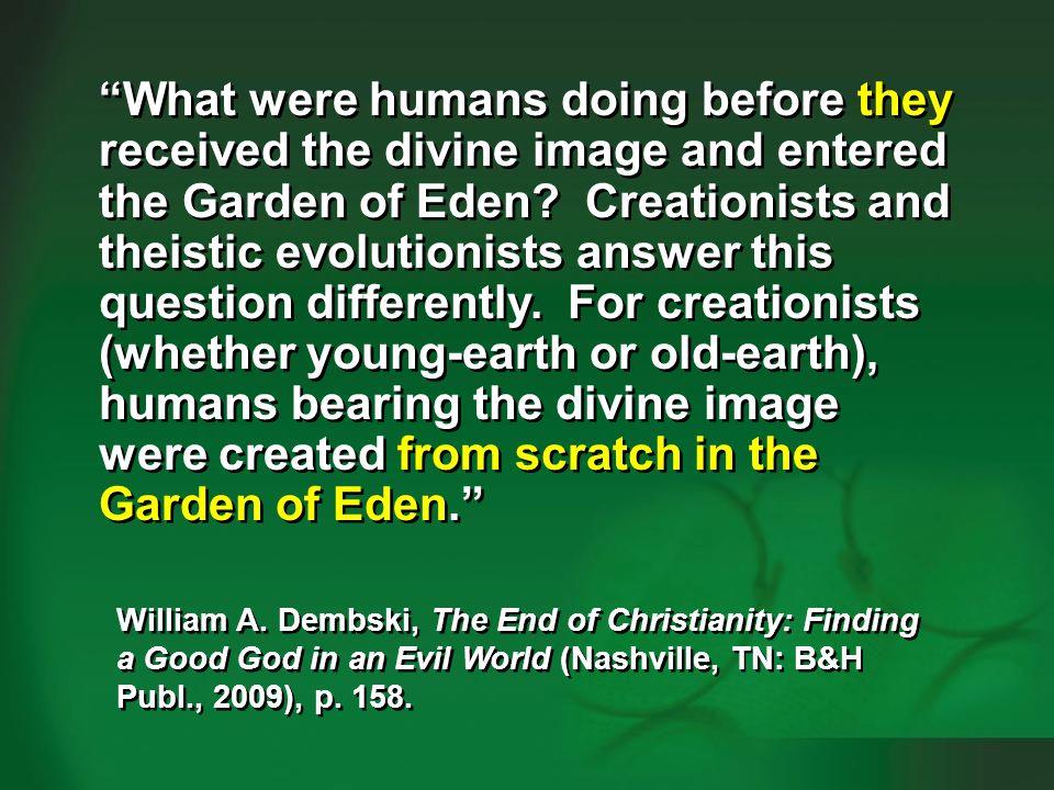 Dembski 2009, p. 158-159—human evolution #1
