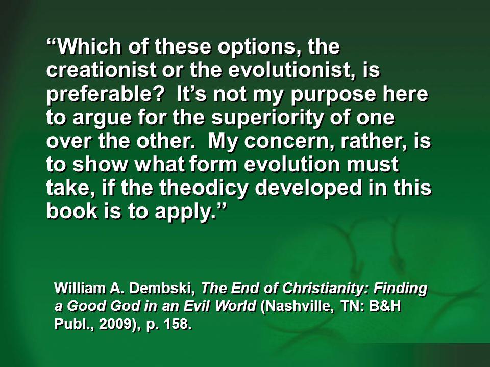 Dembski 2009, p. 158-159—human evolution #4