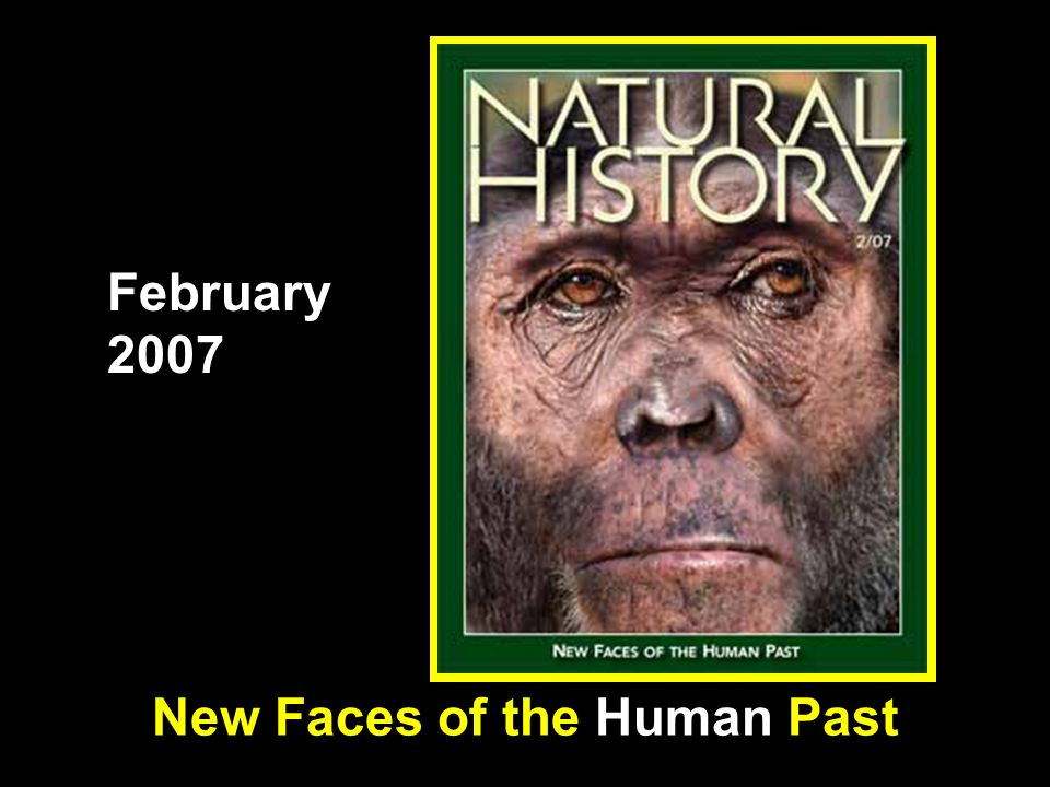 New Faces of the Human Past