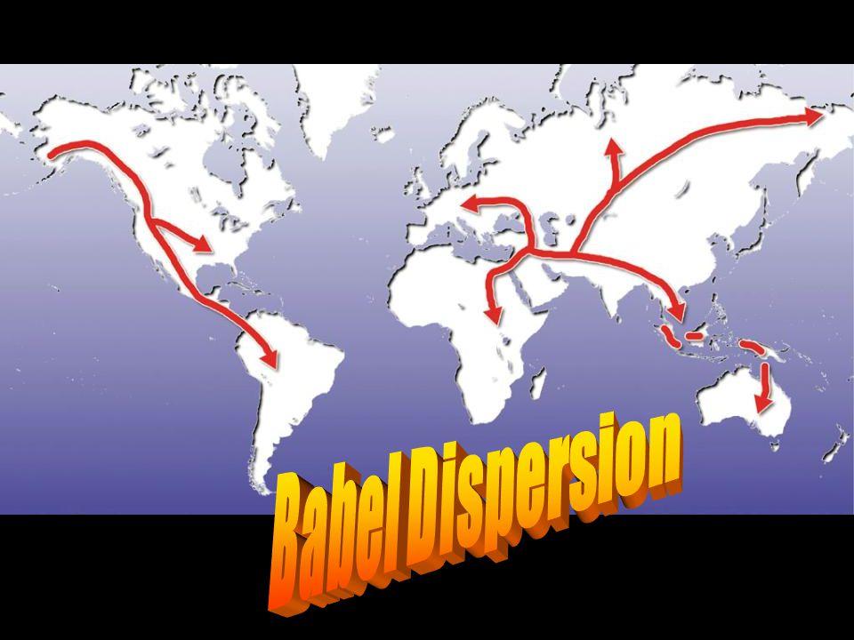 Map—post-flood dispersion