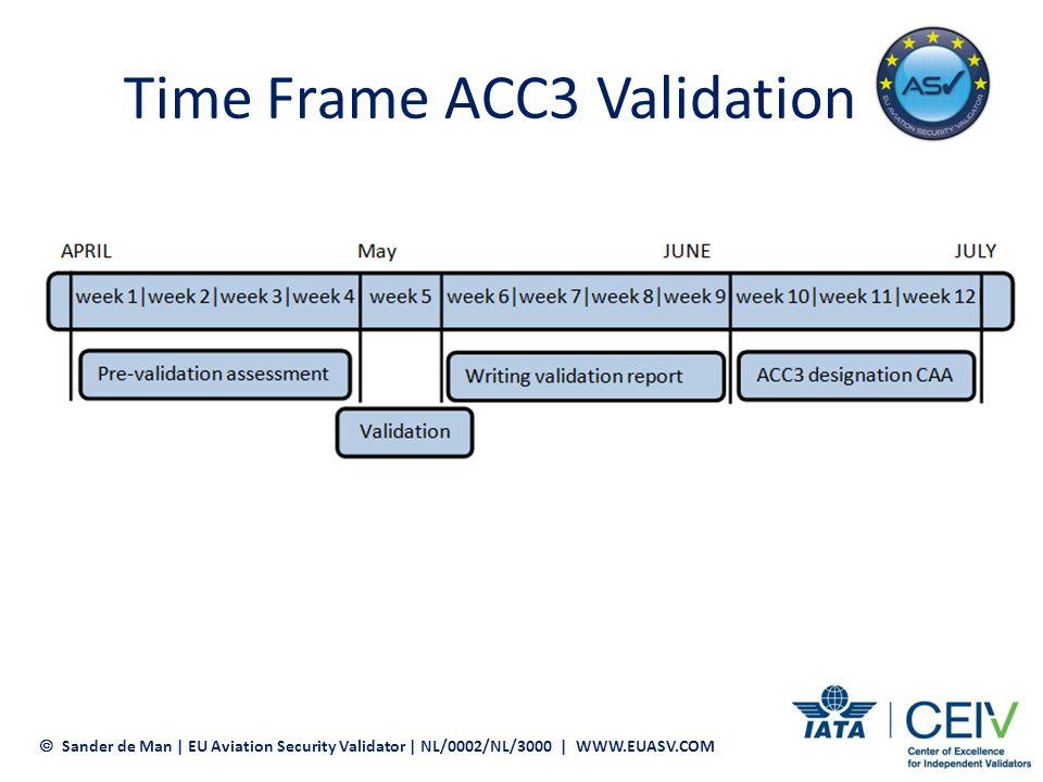 Time Frame ACC3 Validation