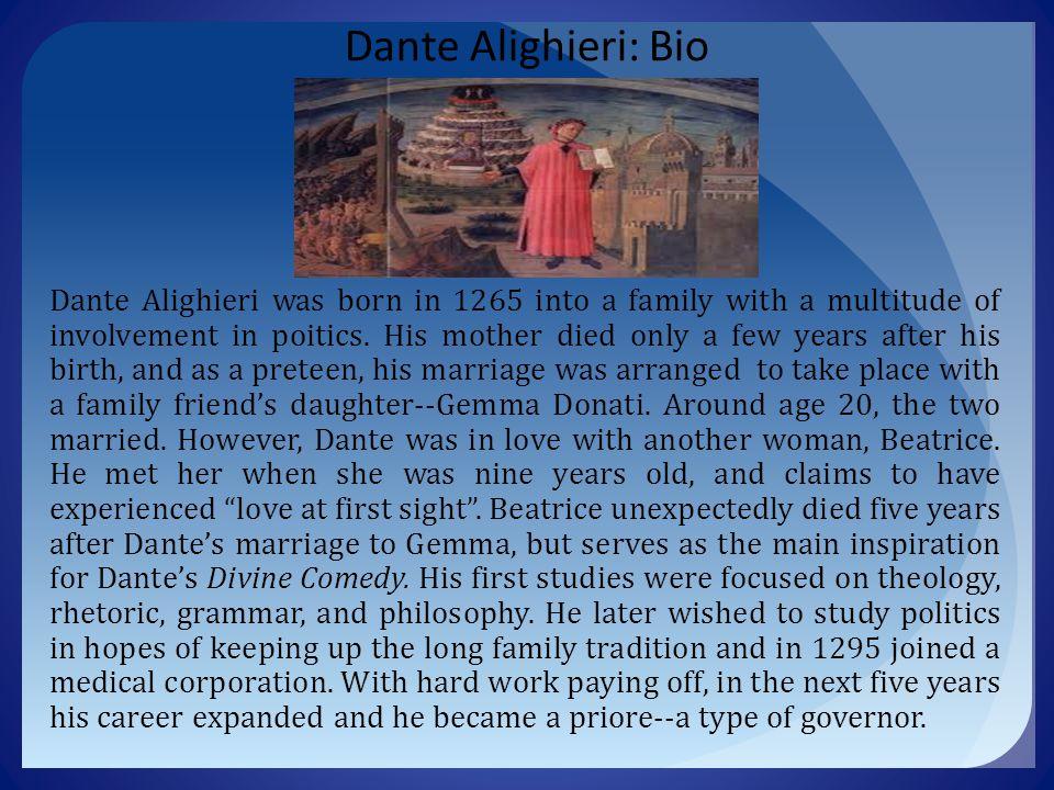 Dante Alighieri: Bio