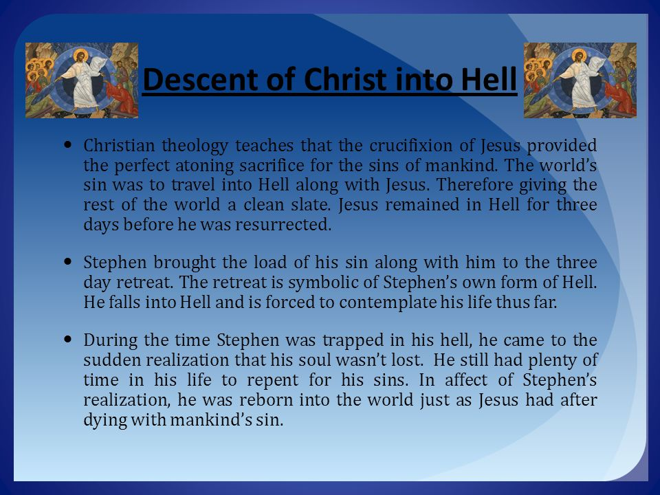 Descent of Christ into Hell