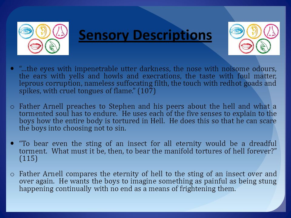 Sensory Descriptions