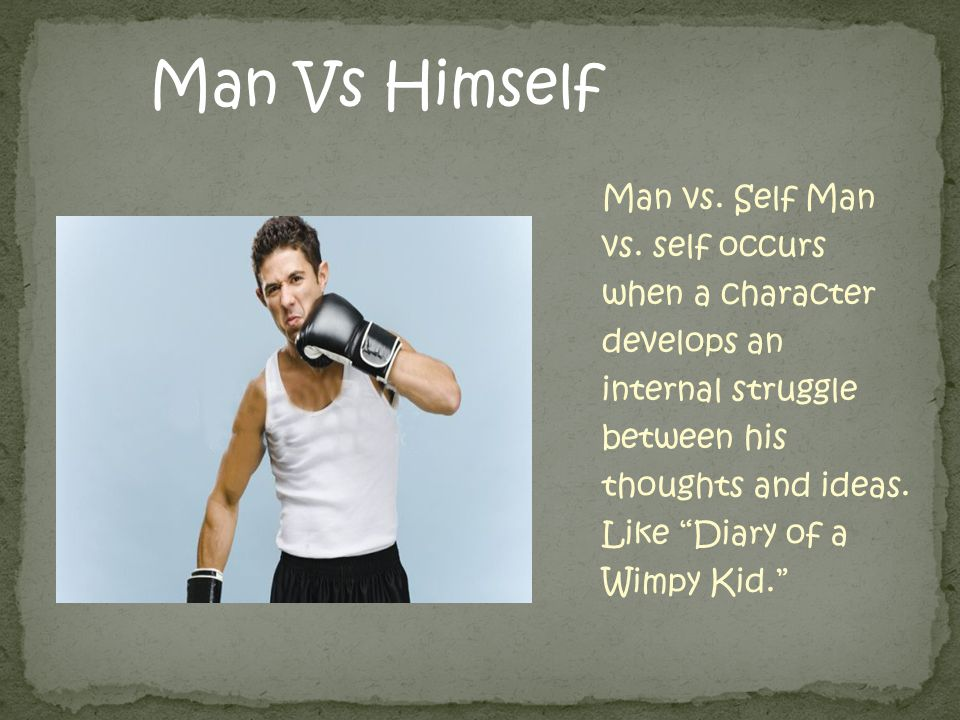 Man Vs Himself