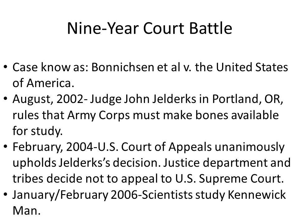 Nine-Year Court Battle