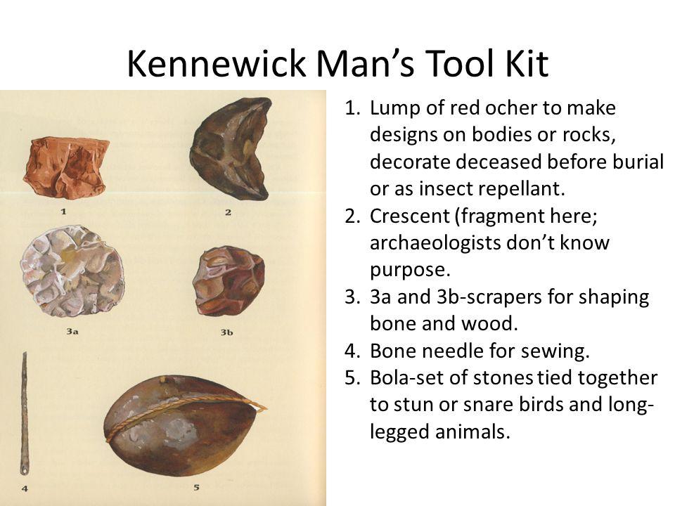 Kennewick Man's Tool Kit
