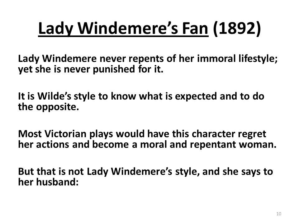 Lady Windemere's Fan (1892)
