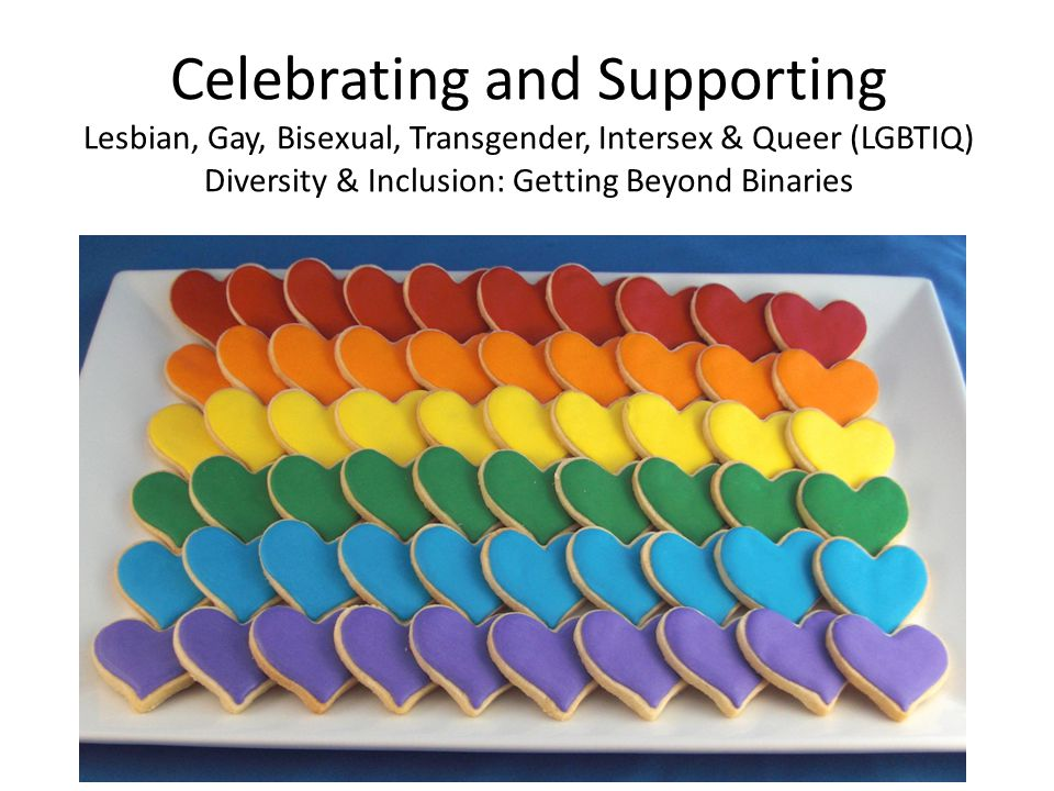 Celebrating and Supporting Lesbian, Gay, Bisexual, Transgender, Intersex & Queer (LGBTIQ) Diversity & Inclusion: Getting Beyond Binaries