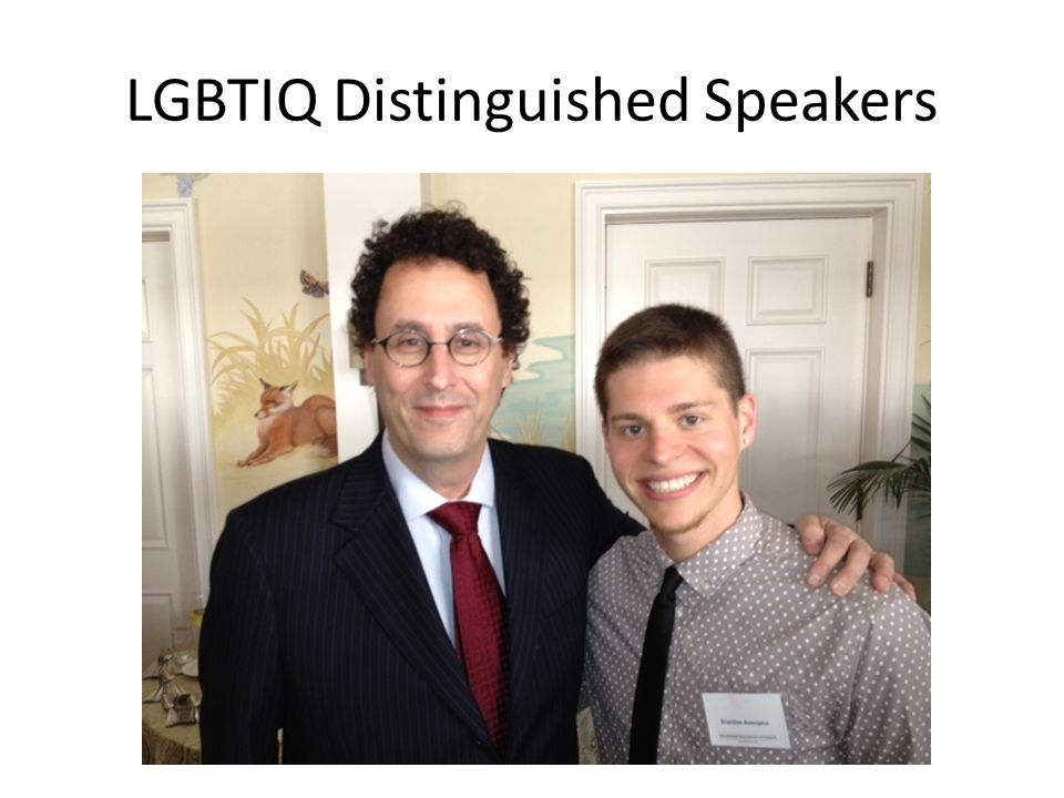 LGBTIQ Distinguished Speakers
