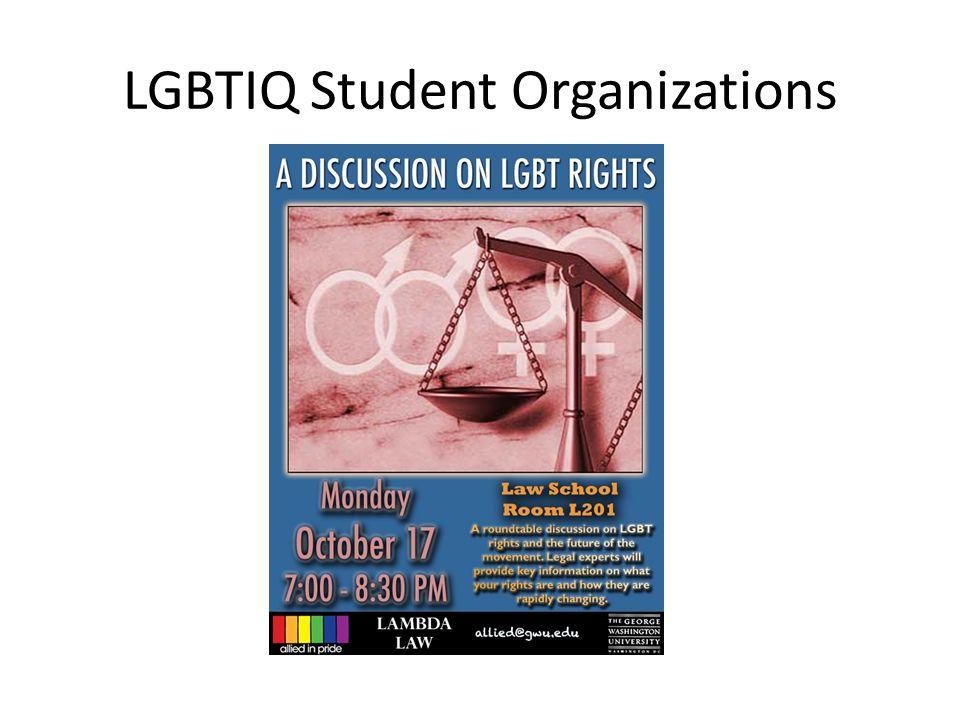 LGBTIQ Student Organizations