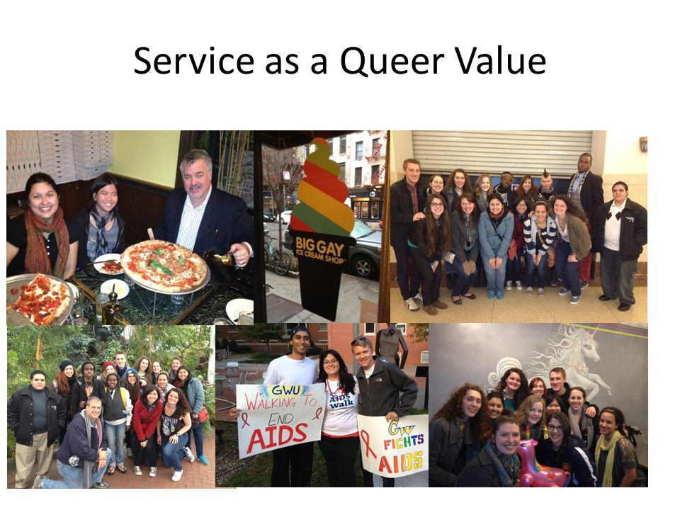Service as a Queer Value
