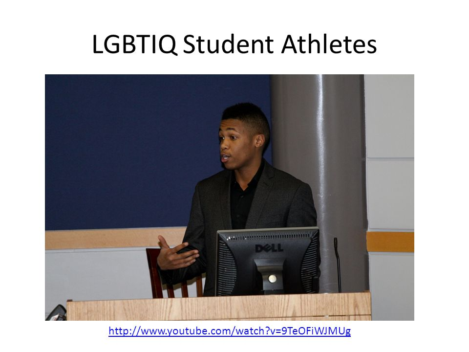 LGBTIQ Student Athletes