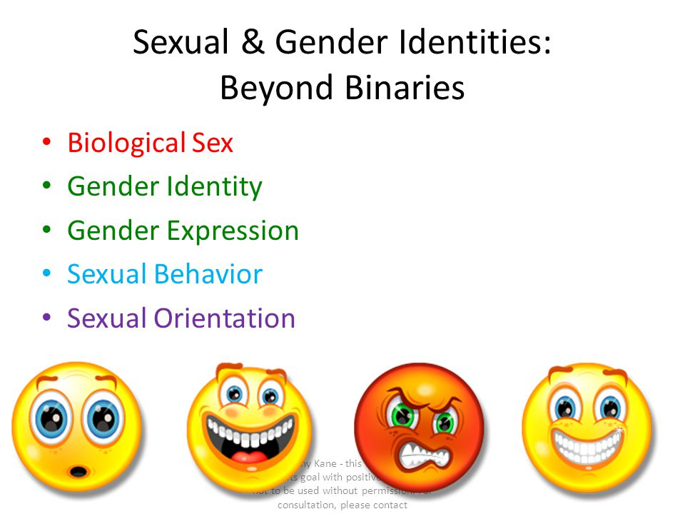 Sexual & Gender Identities: Beyond Binaries
