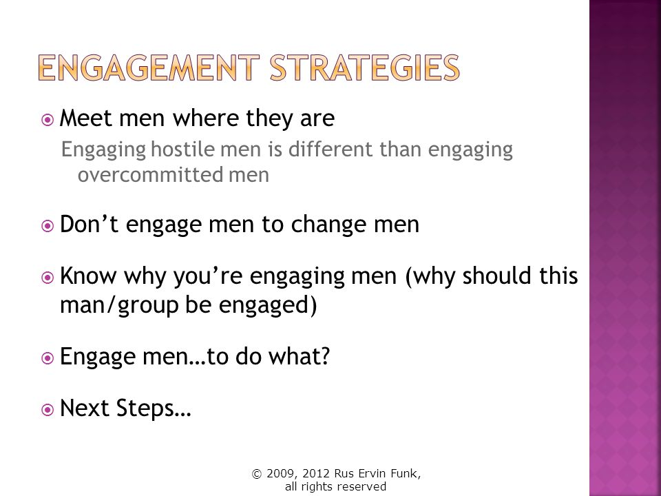 Engagement Strategies