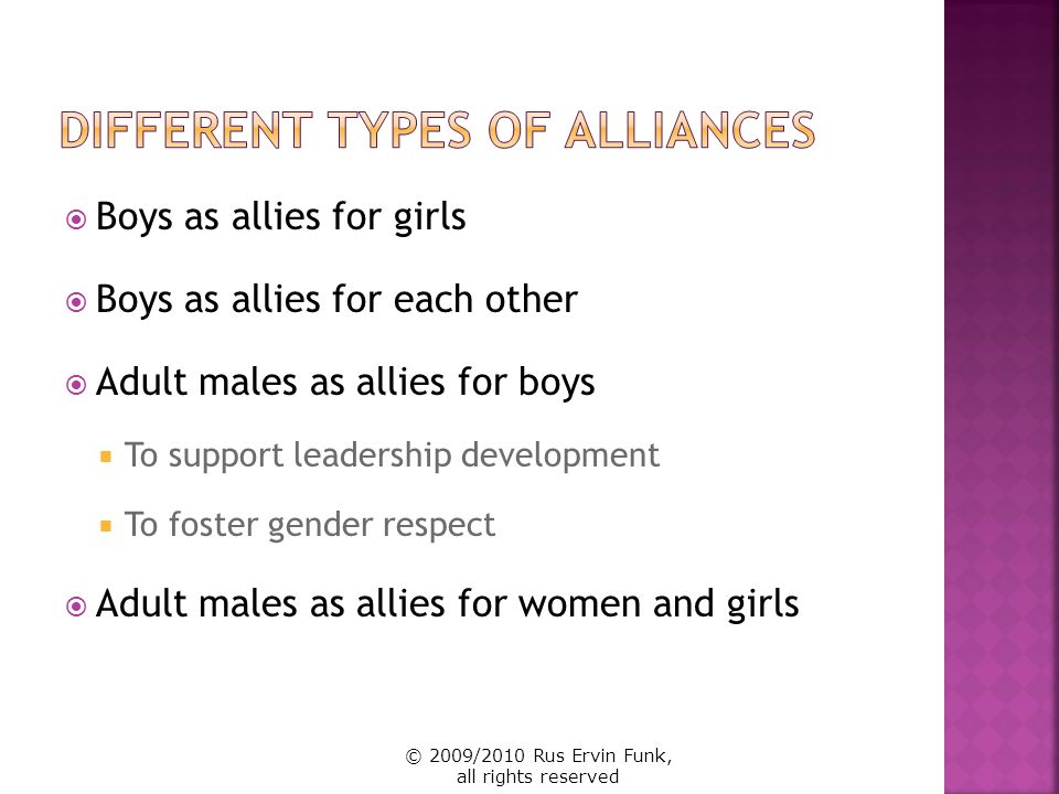 Different Types of Alliances