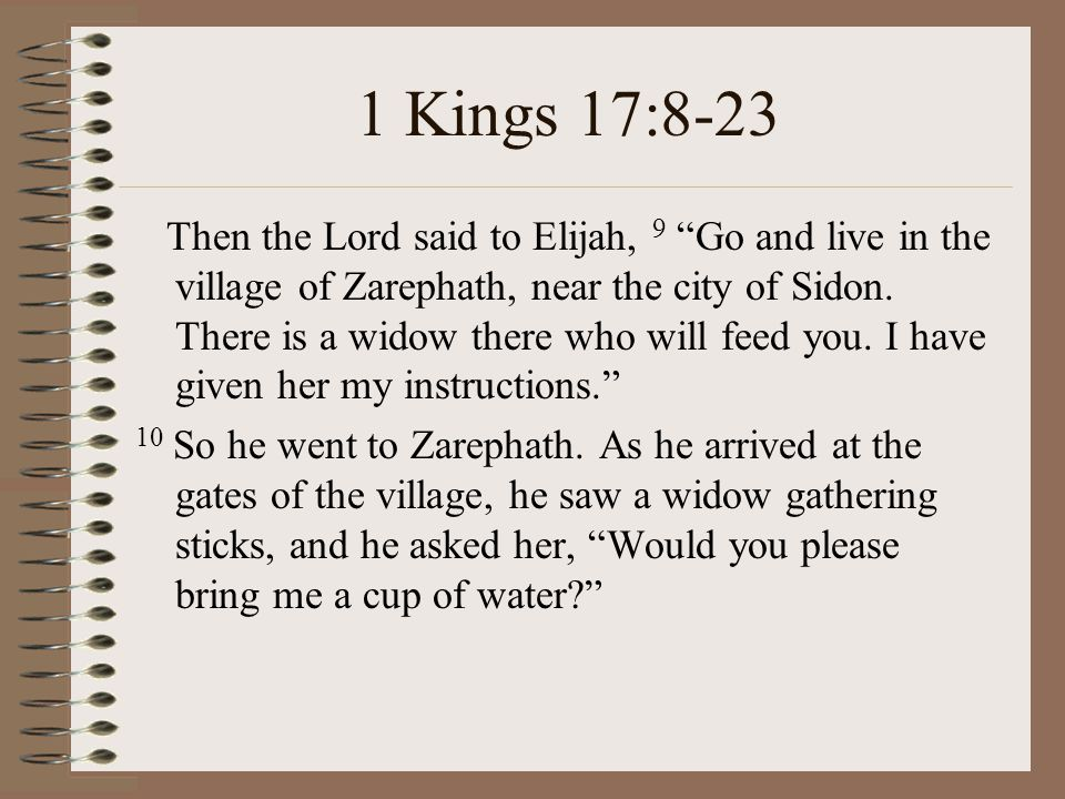 single men in zarephath Bible background - elijah and the widow of zarephath by carol hulbert  he  had been called by god to do something to get the people back to worshiping  god  in seemingly single acts that have prophetic significance.