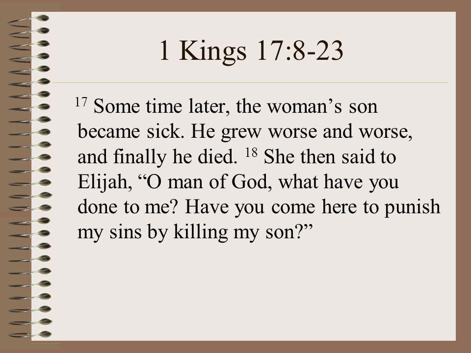 1 Kings 17:8-23