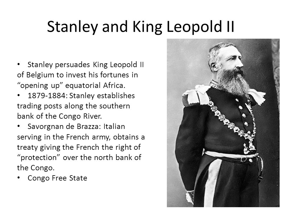 Stanley and King Leopold II