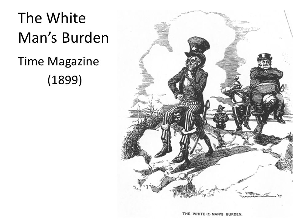 The White Man's Burden Time Magazine (1899)