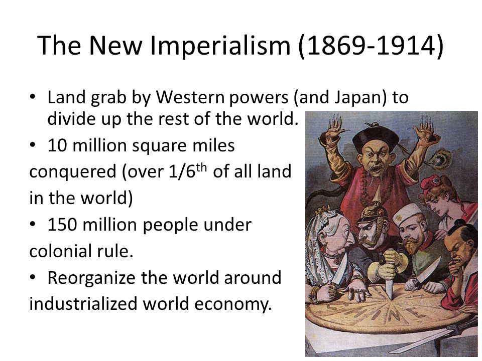 The New Imperialism (1869-1914)