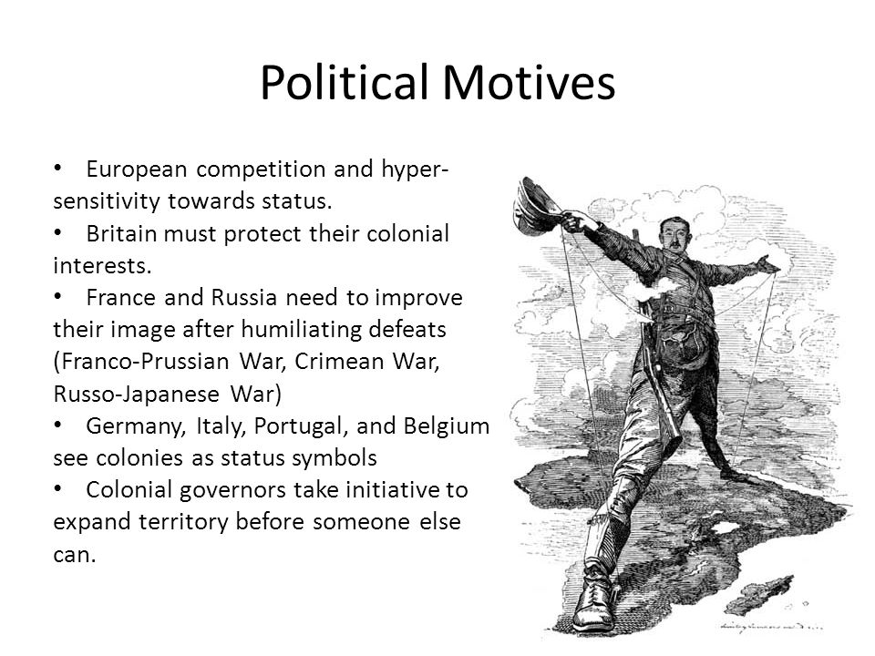 Political Motives European competition and hyper-