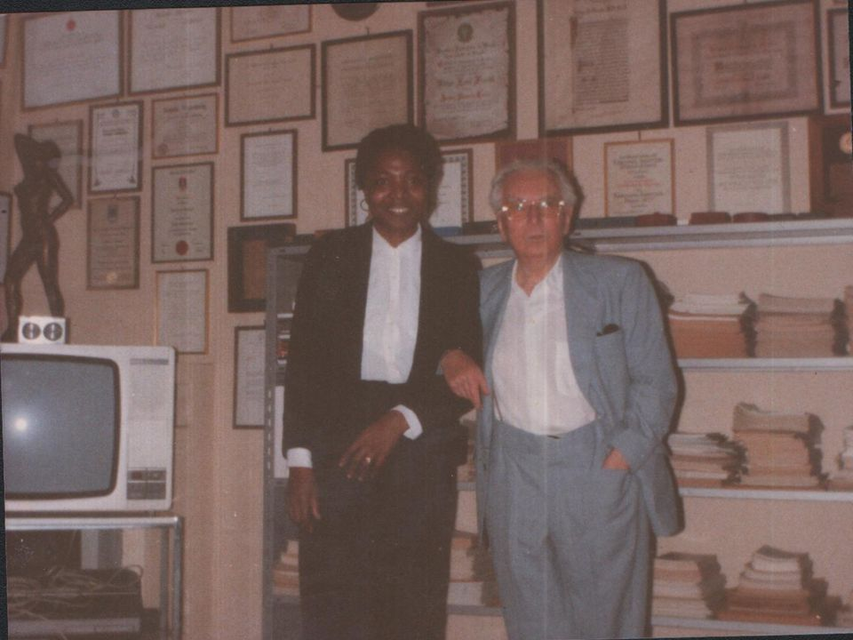 I was with him in his House in Vienna,1990