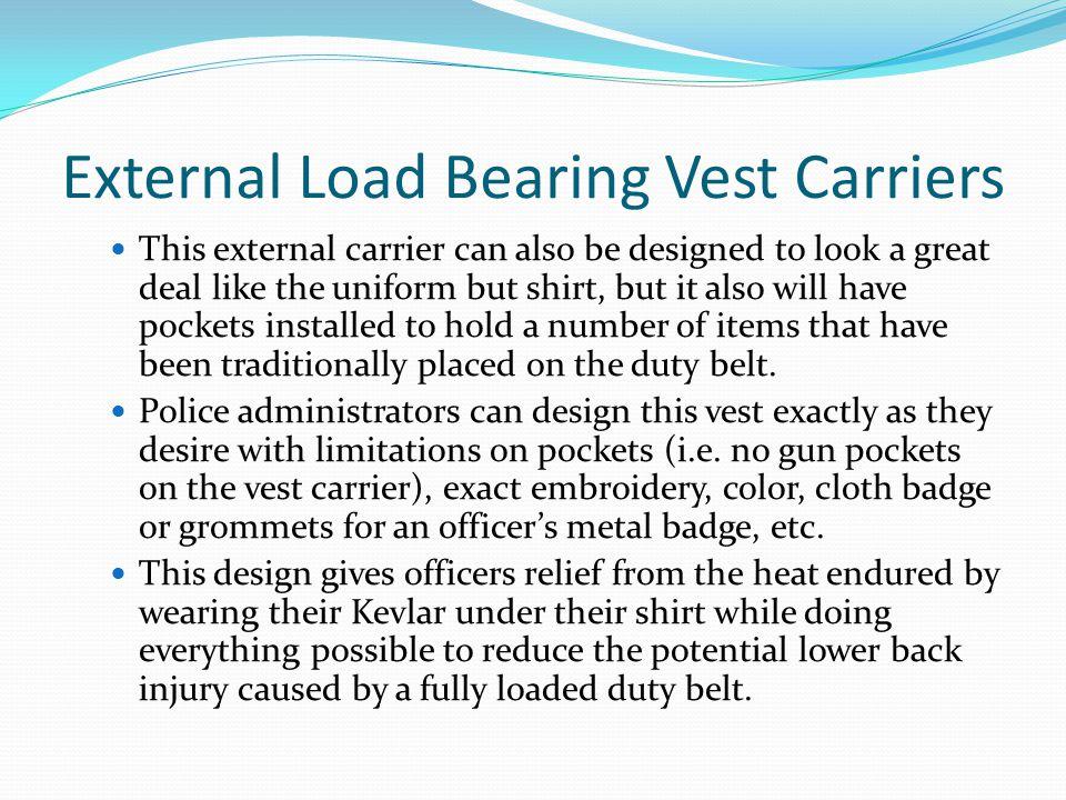 External Load Bearing Vest Carriers