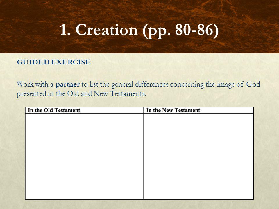 1. Creation (pp. 80-86)
